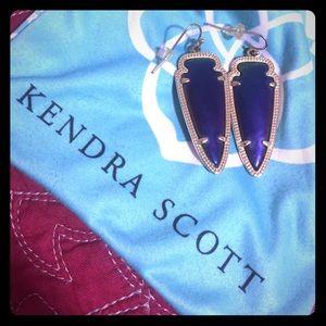 Kendra Scott Sky Black Iridescent Earrings